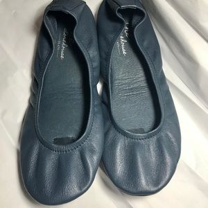 The Storehouse Leather Folding Flats
